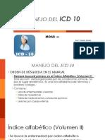 Manejo Icd 10