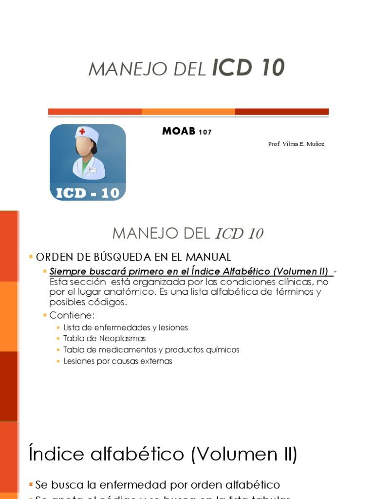 Código icd para hipertensión
