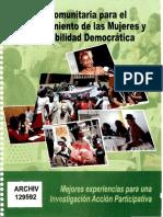 La Radio Comunitaria para el Empoderamiento de las Mujeres y la Gobernabilidad Democrática