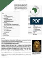 África - Wikipedia, La Enciclopedia Libre