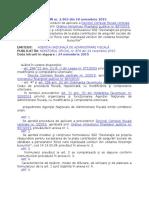 MO 879 Ordin 2963- Formular 602