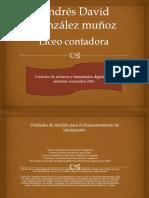 Andrés David González Muñoz
