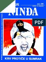 Nindža (br. 86)~Derek Finegan-Krv protiče u sumrak
