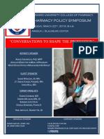 Pharmacy Policy Symposium Program Booklet