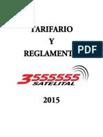 Tarifario Taxi Satelital