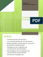 CONTAMINACION ALIMENTICIA presentacion