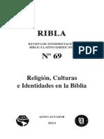 Estudio Antropologico de Las Culturas en La Biblia