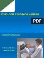 Cortes Ecograficos de Mama-tiroides -Testiculo