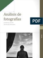 Análisis fotografías
