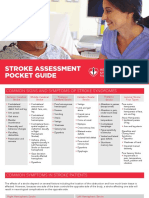 HSF Stroke Assessment Pocket Guide