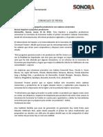 16/03/16 Une Economía estatal a pequeños productores con cadenas comerciales Buscan impulsar a pequeños productores -C.031688