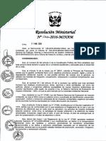 RM-N°-066-2016-MINAM Guía de Compensación Ambiental