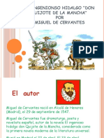Obra Don Quijote