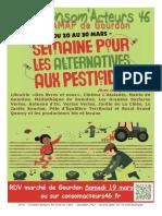Gourdon_semaine Pour Les Alternatives Aux Pesticides_2016