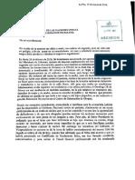 Carta de Gabriela Zapata a la ONU