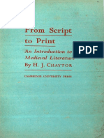 From Script to Print
