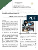 Volumetría de óxido-reducción. Determinación volumétrica de hierro por permanganometría