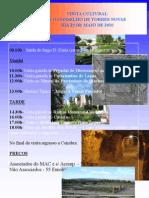 Cartaz de Visita Cultural a Torres Novas Dia 29 de Maio de 2010