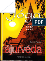 Dr. David Frawley - Jóga és ájurvéda