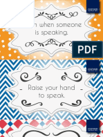Printable posters for the classroom