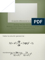 Ecuacion No Lineal