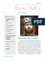 King Arthur Research Paper