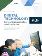 digitaltechnologysafeandresponsibleuseinschs