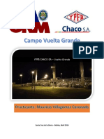 Informe de Pasantias - Planta Vuelta Grande - Mauricio Villagomez Coronado