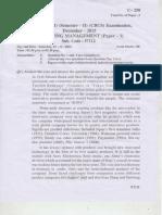 c 258 - Marketing Management- i - Sem II