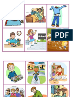 Flashcards Unit 1 Daily Activities