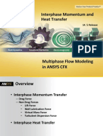 CFX Multiphase 14.5 L03 Interphase Momentum Heat Transfer