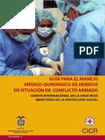 Guía Nacional Médico Quirúrgica