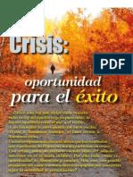 Crisis - Oportunidad para el éxito
