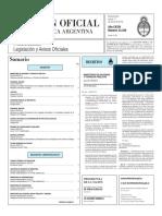 Boletín Oficial de la República Argentina, Número 33.339. 17 de marzo de 2016