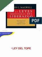 21 Leyes Del Liderazgo