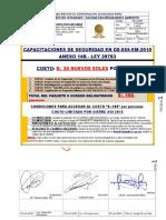 5 Cursos Obligatorios DS 055 EM 2010 Anexo 14B Ley 29783