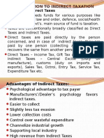 Introduction to Indirect Taxes Ch.I