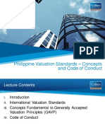 Philippine Valuation Standards - Concepts and Code of Conduct