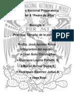Tamaño de Poblacion