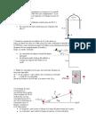 Ejercios COnservación de E y de P. Colisiones