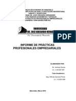 Informe Pasantias Josmary Garcia No. de Expediente. Cc0057