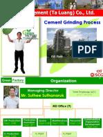 Cement Process