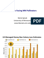 MDA Pollinators Summit Presentation by Marla Spivak