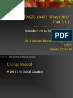 3360 Unit 02.1.1 2014-I-01