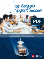 Building Linkages for Export Success