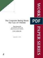 Corp Rating Sham