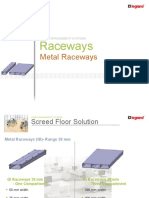 Raceways Junction Boxes for Underfloor installation