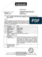 Allotment of Secured, Redeemable, Non-Convertible Debentures [Company Update]