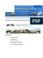 Student Internship Program