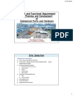 CE707-Lec08-Layout and Functional Requirement of Port